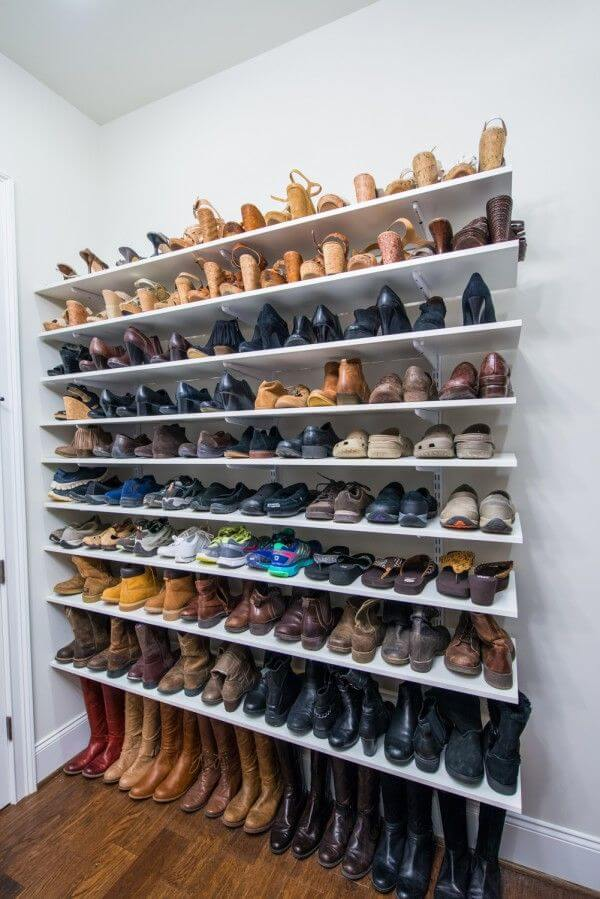 For the Biggest Shoe Collectors out There